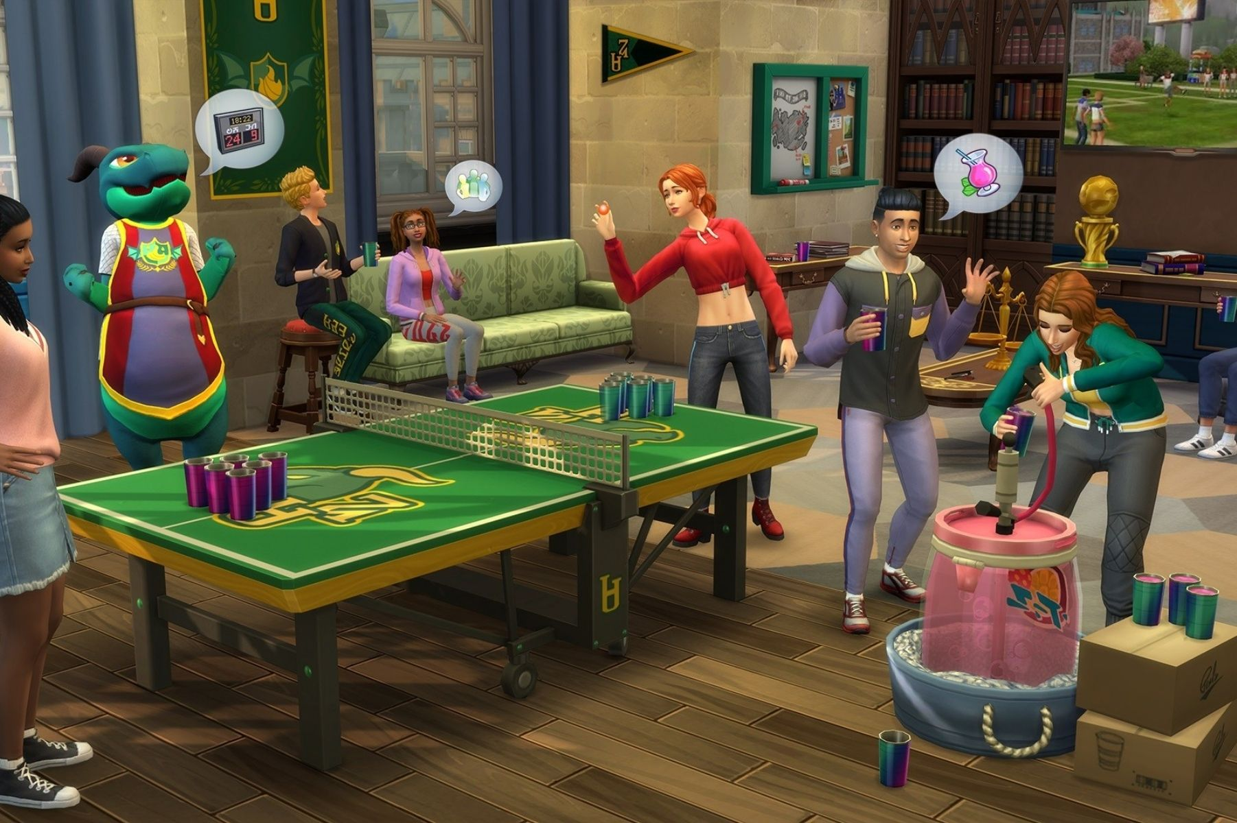 The sims 4 desafio big brother